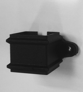 Black Cast Iron Effect 68mm Round Downpipe 2.4m The Cast Iron Effect Company