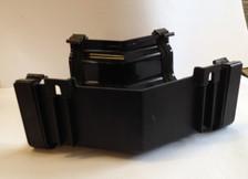Internal 135 degree ogee gutter angle - black cast iron effect