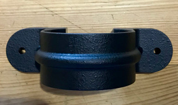 Round Lugged Bracket - Cast Iron Effect for Downpipe