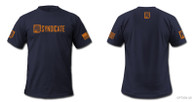 PTS Syndicate Navy / Orange shirt