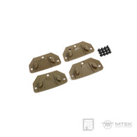 PTS MTEK FLUX Hook for Retention Strap (4pcs)
