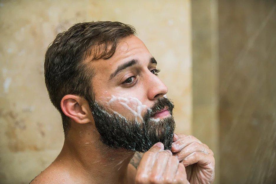 beard washing