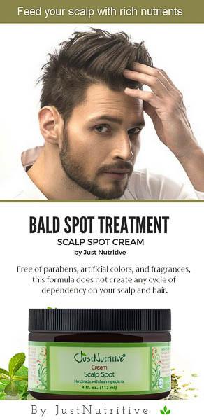 Scalp Spot Cream Men S Hair Just Nutritive