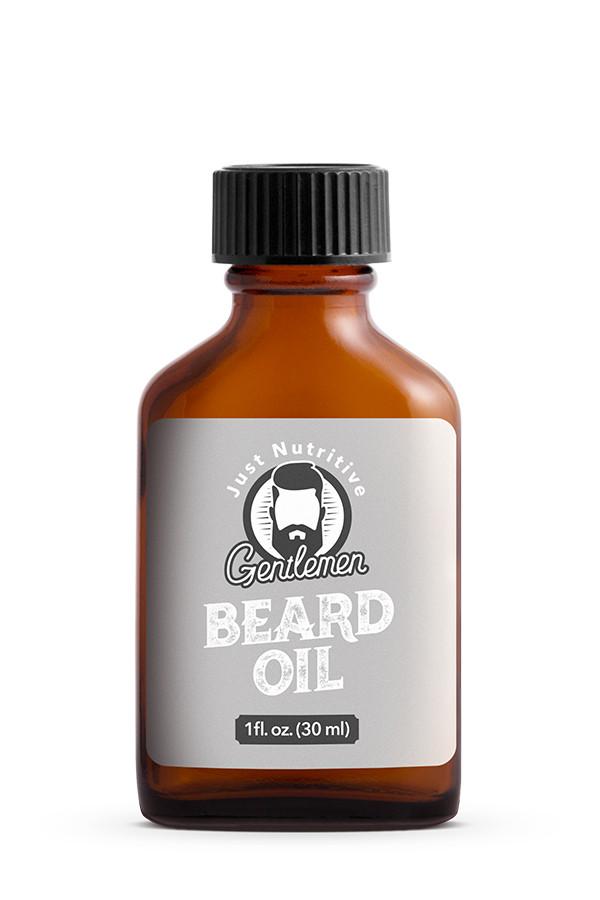 Beard Oil Bottle - Just Nutritive Gentlemen