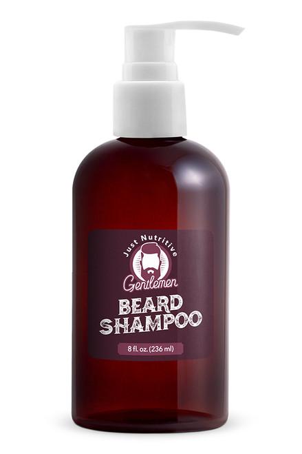 Beard Shampoo Bottle - Just Nutritive Gentlemen