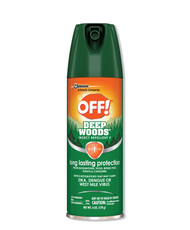 Deep Woods Insect Repellent 6oz Aerosol 12/carton Free Shipping