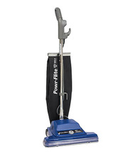 """Powr-Flite 16"""" Commercial Shake-Out Bag Upright Vacuum w/QT and Wide Track"""