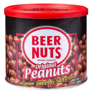 BEER NUTS Original Peanuts, 12-Ounce Cans (Pack of 12) Free Shipping