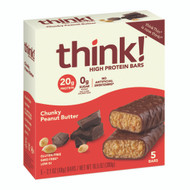 thinkThin high protein bars, chunky peanut butter 4/6/5-ct Free Shipping
