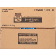 NESTLE TOLL HOUSE Semi-Sweet Morsels Standard Size Bulk - 900 ct. (50 lb) Free Shipping