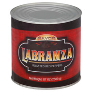 Savor Labranza - Imported Whole Red Pepper Roasted 6-3 Kilogram Free Shipping