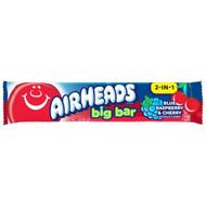 Airheads Big Bar Blue Raspberry and Cherry 1.5 Ounce Bar - 24 per Pack - 12 Packs per Case Free Shipping
