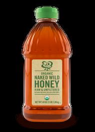 Naked Wild Organic Raw Honey, 48 oz 6-48 Ounce Free Shipping