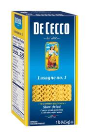 DECECCO enriched MACARONI LASAGNA 12-1 Pound Free Shipping