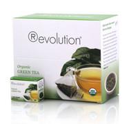 REVOLUTION TEA ORGANIC GREEN 4-2.33 Ounce Free Shipping