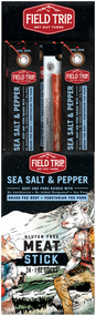 FIELD TRIP JERKY STICK MEAT SEA SALT & PEPPER 1OZ 6-24-1 Ounce Free Shipping