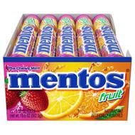Mentos Vertical Showbox Mixed Fruit Candy, 1.32 Ounces - 360 Packs per Case Free Shipping
