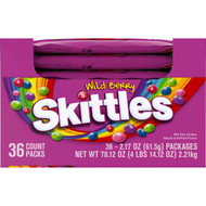 Skittles Wild Berry, 2.17 Ounce (10-36 Pack) Free Shipping