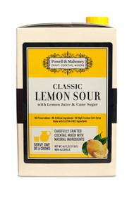 Powell & Mahoney Classic Lemon Sour Cocktail Mix, 46oz (6/Case) Free Shipping