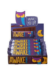 AWAKE Chocolate AWAKE Caff Dark Choc- 6x12pk MASTER Free Shipping