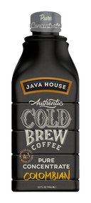 Javahouse 16073 Java House Authentic Cold Brew Colombian Black 4:1 Concentrate 6/32oz, Free Shipping