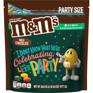 M&MS MILK CHOCOLATE XL Stand Up Pouch 38 Ounce 6 Per Case Free shipping