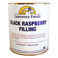 Lawrence Foods Black Raspberry Filling, #10 Can - 6 per Case Free Shipping