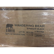 Wandering Bear Coffee 128 oz 3 pak Straight Black Organic Cold Brew Coffee 1-3 Gallon Free Shipping