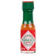 Tabasco Miniature Pepper Sauce, .125 Ounces per Bottle - 500 per Case Free Shipping