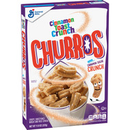 General Mills Cinnamon Toast Crunch Churros Cereal, Case of 12 -11.9 oz - Bulk Free Shipping