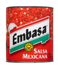 EMBASA SALSA MEXICANA RED #10 6-99 Ounce Free Shipping