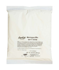 Foothill Farms Add Water No Trans Fat Gluten Free Meringue Mix, 1 Pound Bag - 12 per Case Free Shipping
