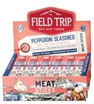 FIELD TRIP JERKY PEPPERONI MEAT STICK 9-24-.5 Ounce Free Shipping
