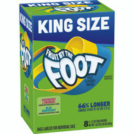Betty Crocker(TM) Fruit By The Foot(TM) Fruit Snacks King Size Raspberry Lemonad 6-20 Ounce Free Shipping