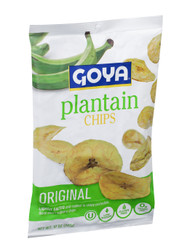 Goya Plantain Chips, 10 Ounce Bag - 10 per Case, Free Shipping
