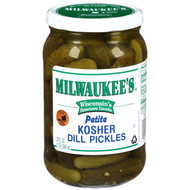 Milwaukee's Petite Kosher Dill Pickles, 32 oz. (Pack of 12), Free Shipping