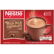 Nestle Hot Cocoa Mix Rich Milk Chocolate Flavor 4.27 oz Box 12 count Free Shipping