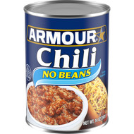 Armour No Bean Chili, 14 Ounces per Pack - 12 per Case Free Shipping