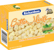 Richardson Butter Mints, 5.5-Ounce Boxes (Pack of 12) Free Shipping