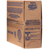 Coffee-Mate French Vanilla Liquid Creamer, 1.5 Gallons per Pack - 3 per Case Free Shipping