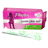 PLAYTEX TAMPON GENTLE GLIDE PLASTIC DEODORANT SUPER 6-12-8 Count Free Shipping