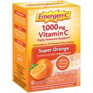 Emergen-C Super Orange, 10 Count - 3 per Pack - 12 Packs per Case Free Shipping