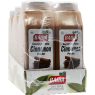 Badia Cinnamon Powder, 16 Ounce Bottle- 6 Per Case, Free Shipping