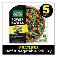 Power Bowl Gardein Beef and Vegetable Stir Fry, 9.25 oz Bowl, 5/Pack,