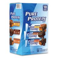 THE BALANCE BAR COMPANY Pure Protein Bar, Assorted Flavors, 1.76 oz Bar, 18 Bars/Carton, Free Shipping