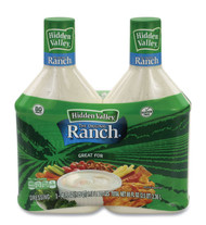 Hidden Valley Original Ranch Dressing, 40 oz Bottle, 2 Bottles/Pack,