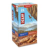 Clif Bar Energy Bar, Chocolate Chip/Crunchy Peanut Butter, 2.4 oz, 24/Box, Free Free Shipping