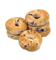 NATIONAL BRAND Fresh Blueberry Bagels, 6/Pack