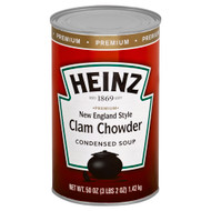 HEINZ Premium New England Clam Chowder Soup, 50 oz. Can, (Pack of 12)