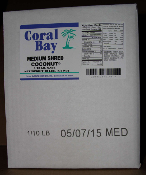 Coral Bay Medium Shred Coconut